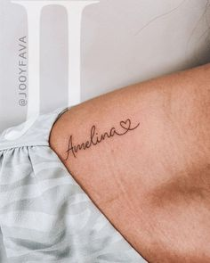 Cousin Tattoos, Name Tattoos For Moms, Tiny Tattoos For Girls, Tattoo For Son, Mother Tattoos, Tattoos For Kids, Family Tattoos, Tattoos For Daughters, Small Tattoos