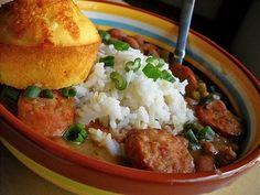 red beans & rice dinner