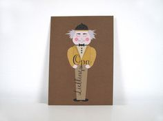 "Postkarte ""Lieblingsopa"" Postkarte im Din A6 Format gedruckt auf hochwertigem Recyclingpapier.  1,50 € inkl. MwSt., zzgl. Versandkosten"