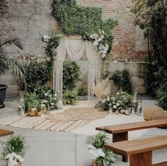 i like how the rugs are arranged for the ceremony. i dont love the rugs or the rest of the set-up but i do like how the rugs look like that if we use our oriental rugs + cowhides! Wedding Vows, Fall Wedding, Wedding Venues, Dream Wedding, Wedding Mantle, Wedding Aisles, Rustic Boho Wedding, Wedding Ceremonies, Church Wedding
