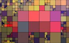 Обои линии, краски, текстура, квадрат