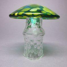 Swedish Glass Mushroom
