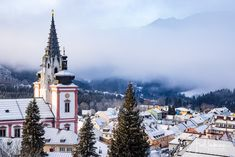 mariazell-basilika-morgennebel-stehralm-3112020-0570 Landscapes, Events, Nature, Outdoor, Photos, New Years Eve, Paisajes, Outdoors, Scenery