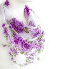 Spring Scarves, Lightweight Scarf, Lavender Flowers, Shawls And Wraps, Bridal Fashion, Womens Fashion, Womens Scarves, Bridal Style, Fashion Accessories