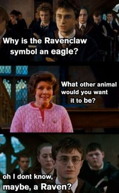 makes sense when you think about it. bit then gryffindor would have to be a gryffin and why the hell is hufflepuff a badger? Slytherin is the only one that makes sense.