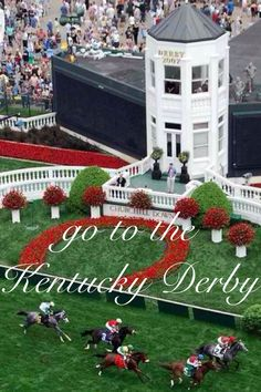 Kentucky Derby @Renee Closs Downs, the first Saturday of every May.  Some call it the most exciting 2 minutes in sports!