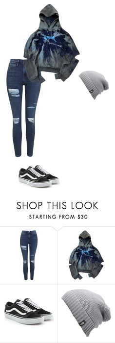 """Untitled #466"" by ericanunes on Polyvore featuring Topshop, Vans and The North Face"