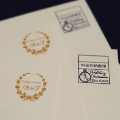 切手の代わりの料金別納郵便スタンプがオリジナルデザインOKって知ってた? | marry[マリー] Wedding Paper, Diy Wedding, Wedding Ideas, Wedding Logos, Wedding Invitations, Wedding Images, Wedding Designs, Stamp, Graphic Design