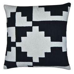 Karpas Pillow 18x18 Black