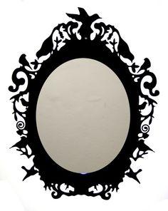 Rococo Laser Cut Acrylic Mirror and Frame