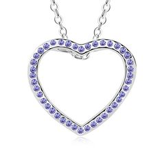 LOVER Valentine's Day Gifts Imitation Crystal Heart Frame Design Pendant Necklace imitation Gemstones may have been treated to improve their appearance or durability and may require special care. The natural properties and composition of mined gemstones define the unique beauty of each piece. The image may show slight differences to the actual stone in color and texture. Imported Intricate high polish creates glamorous reflections and adds a luxurious look to this necklace