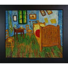 "Found it at Wayfair - Bedroom at Arles Canvas Art by Vincent Van Gogh Art Deco - 31"" X 27"""