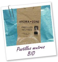 Pastilles neutres Aroma-Zone