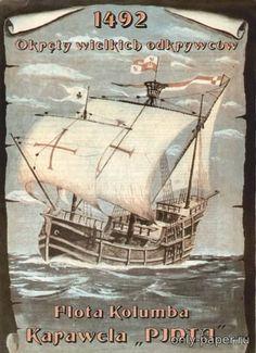 Каравелла Pinta из бумаги, модели бумажные скачать бесплатно - Парусник - Морской флот - Каталог моделей - «Только бумага»