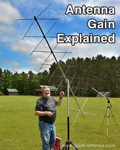 Great Article on antenna gain! Antenna Gain, Wifi Antenna, Diy Tv Antenna, Radios, Hf Radio, Ham Radio Antenna, Radio Frequency, Electronics Projects, Diy Electronics