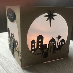 Stimmungsvolles Weihnachtslicht - Stempeln mit StampinUp!