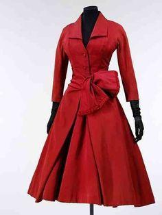 Vintage DIOR red dress ❤❦♪♫