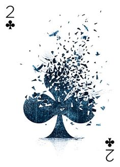 54 playing cards by 54 artists. @ Playing arts. Gorgeous work.