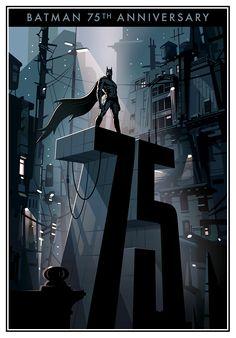 Más arte gráfico para el 75° aniversario de Batman