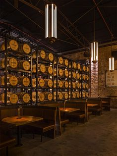 Archie Rose Distilling Co by architecture and interior designers ACME&CO in Rosebery NSW.