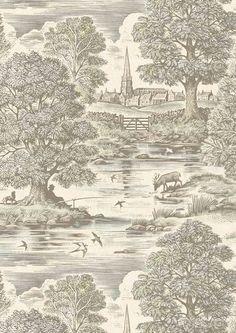 Royal Oak Wide Width Wallpapers