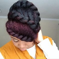 Beautiful Protectivestyle @tjluvsbeingnatural #Hair2mesmerize #naturalhair #healthyhair   #naturalhairjourney #naturalhairstyles #blackhairstyles #transitioning #protectivestyle