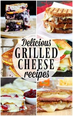Delicious Grilled Cheese Recipes
