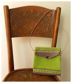 Handmade crochet bag