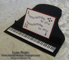 Stamp-n-Design: Piano Cards