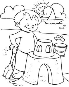 Free Summer Coloring Sheets - Free Summer Coloring Sheets , Get This Line Summer Coloring Pages Summer Coloring Sheets, Beach Coloring Pages, Free Adult Coloring Pages, Free Coloring Sheets, Cool Coloring Pages, Animal Coloring Pages, Free Printable Coloring Pages, Coloring Pages For Kids, Coloring Books