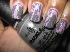 China Glaze Crackle Glaze in the color Cracked Concrete