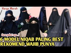 TUTORIAL PAKAI CADAR SIMPEL ANTI PENGAP !! DAN 6 JENIS MODEL NYA - YouTube Niqab, Dan, Videos, Youtube, Model, Instagram, Table Toppers, Scale Model