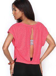 Slouchy Racerback Tank - Victoria's Secret Pink® - Victoria's Secret