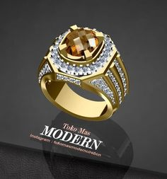 Mens Gold Diamond Rings, Mens Emerald Rings, Mens Gemstone Rings, Mens Gold Bracelets, Gold And Silver Rings, Men's Jewelry Rings, Gold Jewelry, Luxury Jewelry, Modern Jewelry