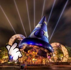 Disneyworld long exposure