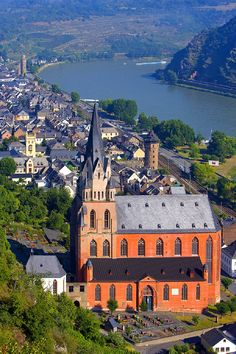 14057.   Oberwesel, Germany in the Rhine River Valley - Jim Zuckerman Photography