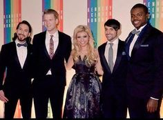 Can we just talk about this picture? Kirstie's dress is flawless, Avi's hair and smile and everything are perfect as always, and Kevin and Avi are rocking bowties because bowties are cool.