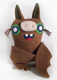 a brown bat by Happycloud Thunderhead, via Flickr