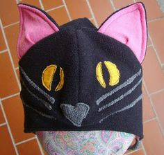 Black Cat Hat Free Sewing Pattern | AllFreeSewing.com