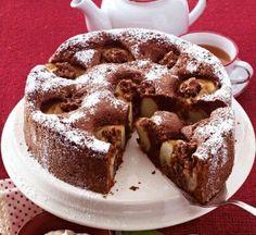 Das Rezept für Schoko-Bratapfelkuchen und weitere kostenlose Rezepte auf LECKER.de