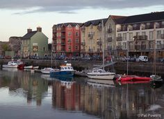 Dungarvan, Ireland--a small seacoast town on the southern coast of Ireland