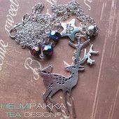 Bambi ja kaverit sateenkaaren päässä - Helmipaikka Oy - Joka päivä on korupäivä - Helmipaikka.fi koruja netistä - Tea Design necklaces
