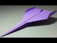 How to make a Paper Airplane that Flies Far - Easy Origami for Beginners | Limbus+ - YouTube