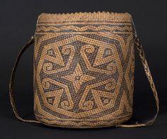 Ajat basket, Penan people. Borneo | 20th century