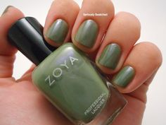 Seriously Swatched: Swatch & Review - Zoya Gemma