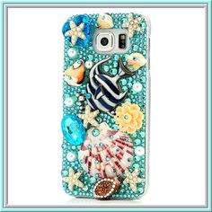 Galaxy S6 - Exquisite Ocean Blue, Pink Hibiscus or Heart Case · Cool Mobile Accessories · Online Store Powered by Storenvy