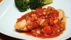 Prosciutto-Wrapped Chicken with Cannellini Beans.