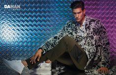 Kaylan Morgan Stars in Kenzo Editorial for Da Man