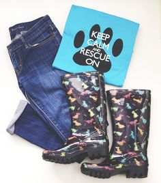 Who wouldn't love a full paw print look? And every purchase helps animals in need!