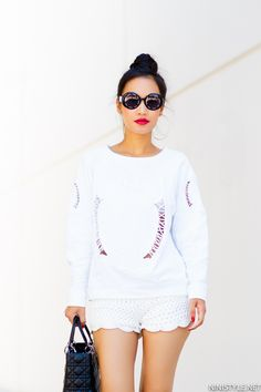 WHITE ON WHITE | Nini's Style Categories: Outfits, Styling, TipsTags: Dior, Vintage Chanel, Zara